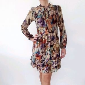 Katherine Label Long Sleeve Dress